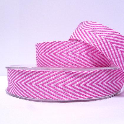 Wide Twill Ribbon :: Bright Pink