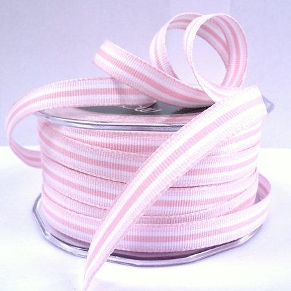 "3/8"" Stripe Ribbon :: Baby Pink"