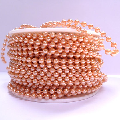 Pearl Trim ROSE GOLD