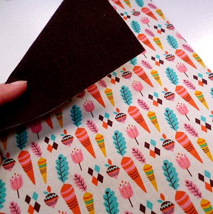 Fabric Felt :: V.K. Multi Turnips & Bournville