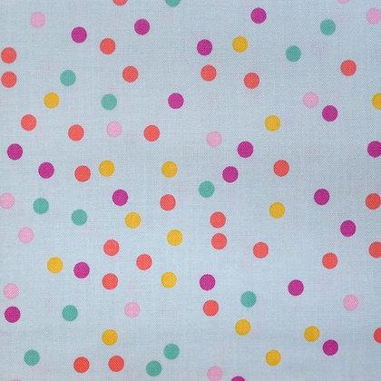 Fabric :: Enchanted :: Mint Dots