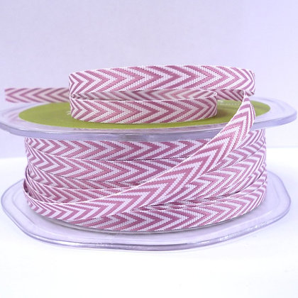 narrow twill ribbon :: rose pink