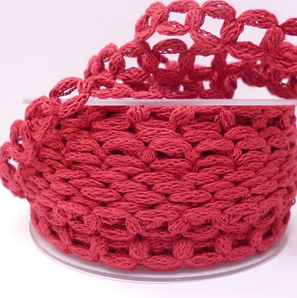French Knit Chain :: Wine Red