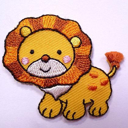 Embroidered Motif :: Safari :: Lion