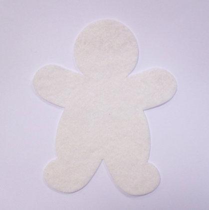 Die Cut :: Gingerbread Man :: Natural