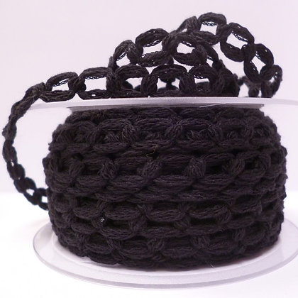 French Knit Chain :: Black