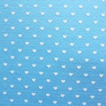 Heart Felt Square :: PALE BLUE
