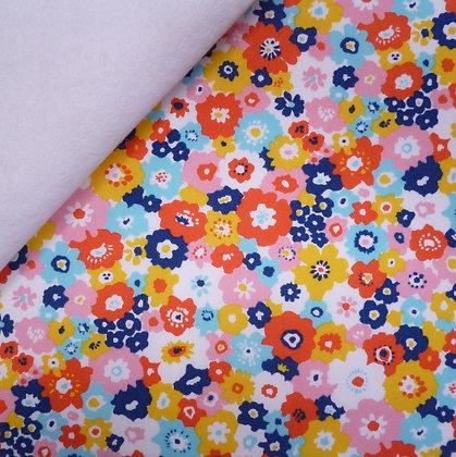 Fabric Felt :: Garden :: Bloom on White