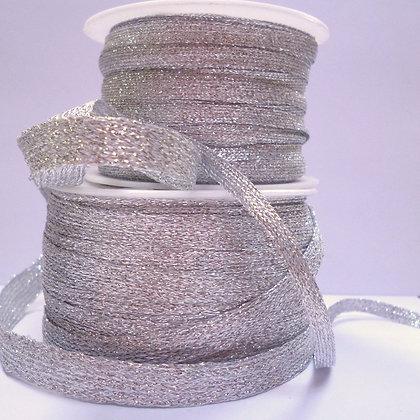 Lurex Braid :: Silver