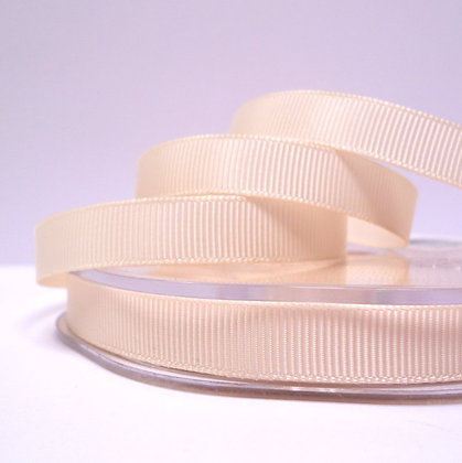 10mm grosgrain :: by the metre :: Cream
