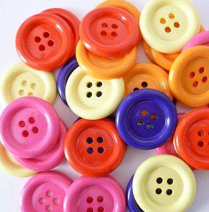 Clown Button :: 38mm
