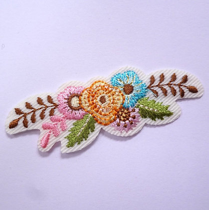 Embroidered Motif :: Boho :: Flowers