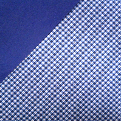 Fabric Felt :: Navy Diagonal Gingham on Navy