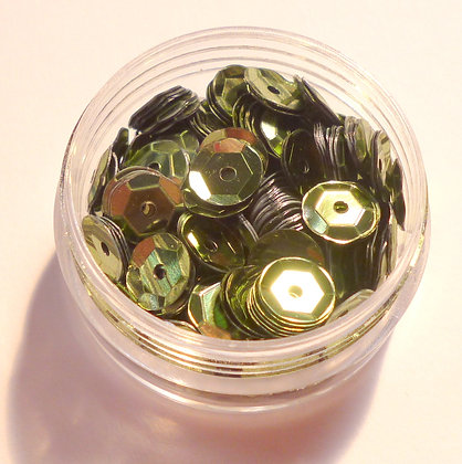7mm Sequins :: Moss Green