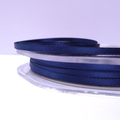 Midnight Blue :: 3mm Mini Satin Ribbon :: 5m