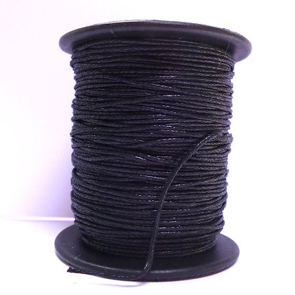 Faux Leather Cord ::Black