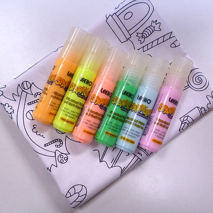 Colour In Kit - Sparkler Paint Pens