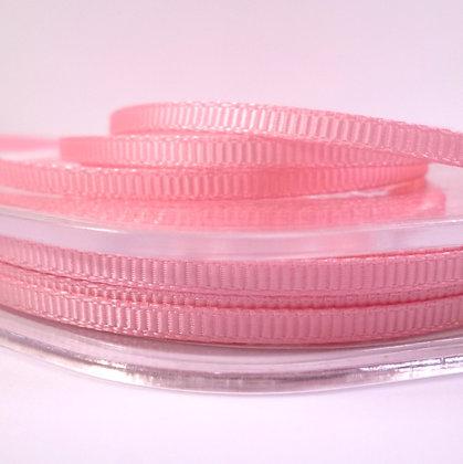 3mm Mini Grosgrain Ribbon (5 metres) :: Classic Pink