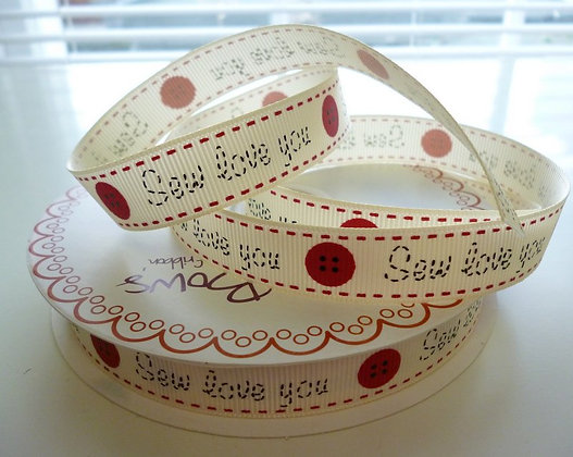 Handmade With Ribbon :: Sew Love You