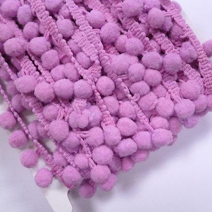 Large Pom Pom Trim :: Lilac