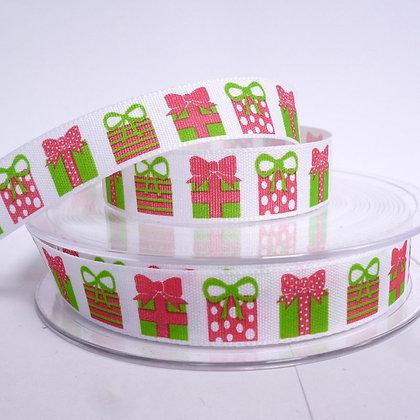 Bright Christmas Ribbon :: Presents