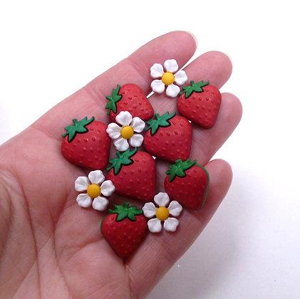 Fantastic Button Packs :: Fresh Strawberries