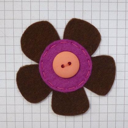 Bournville :: Med Flower :: Handmade Embellishment