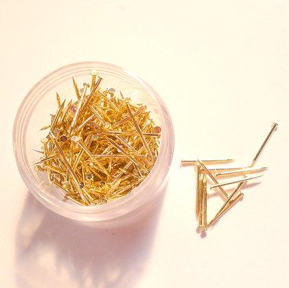 Sequin Pins :: Gold