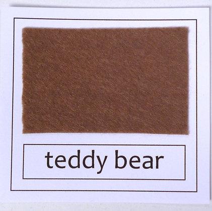 """Die Cut Pack :: 1"""" circles :: Teddy Bear"""