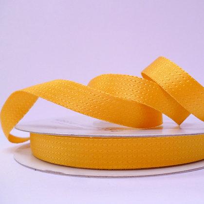 Stitch-Look Satin Ribbon :: Mustard