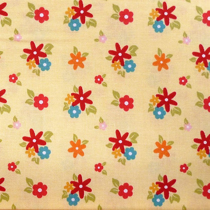 Fabric :: Fine & Dandy :: Yellow Flowers