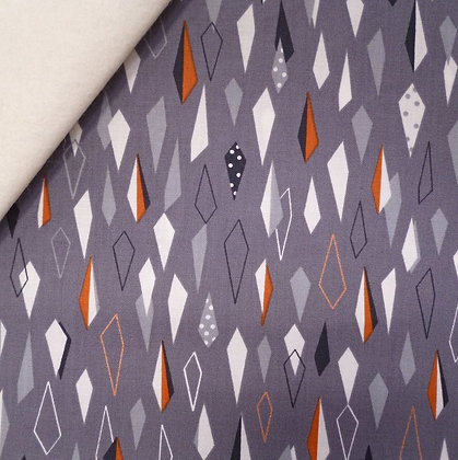 Fabric Felt :: Winterfold :: Diamonds on Natural