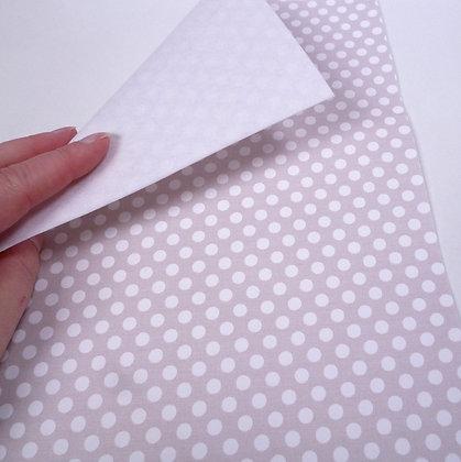 Fabric Felt :: Cloud Dots & White