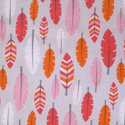Fabric :: Boho Baby :: Feathers