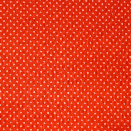 FQ SALE Fabric :: Happy Day :: Pink Dots on Red FAT QUARTER