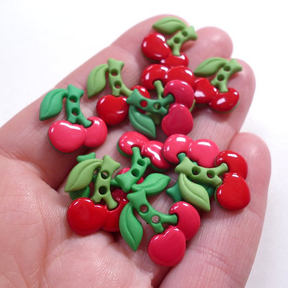 Benefit 1 :: spend £25 :: Free Sew Cute Cherries Buttons
