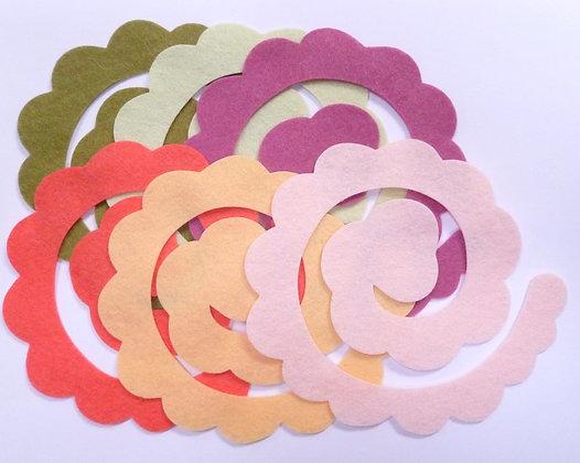 Die Cut Packs :: 3D Flower II :: Anemone