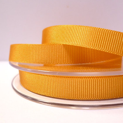 10mm grosgrain :: by the metre :: Mustard
