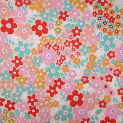 Fabric :: Forget Me Not :: Pink Garden