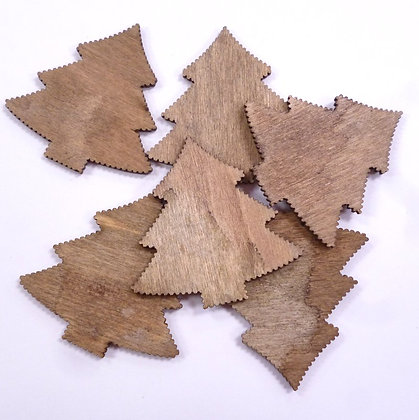 Natural Wooden Shapes :: Trees