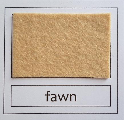 """Die Cut Pack :: 1"""" circles :: Fawn"""