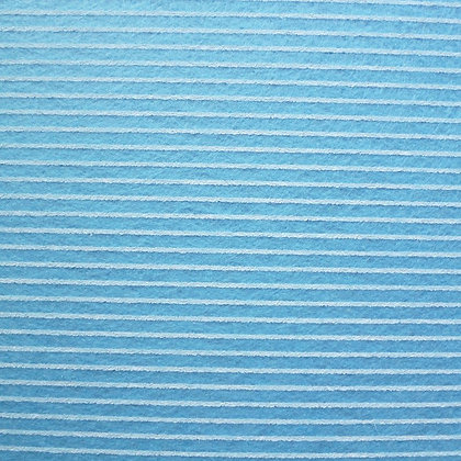 Stripe Felt Square :: PALE BLUE