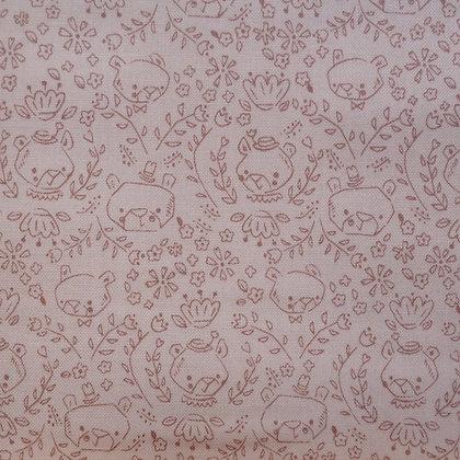 Fabric :: Goldilocks :: Cream Bear Sketch