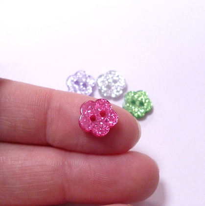 Glitter Buttons :: TINY