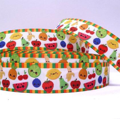 Cute Grosgrain Ribbon :: Happy Fruit