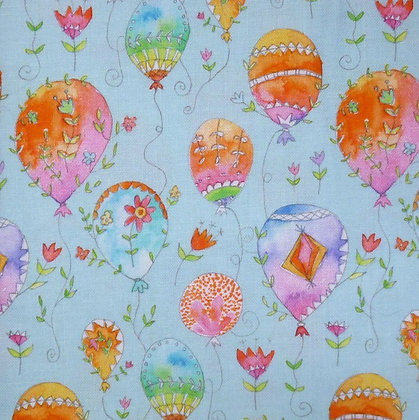 Fabric :: Waltz of Whimsy :: Blue Pixie Balloons