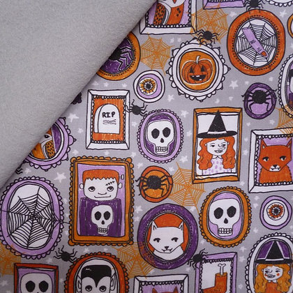 Artisan Fabric Felt :: Halloween Gallery on Silver Grey