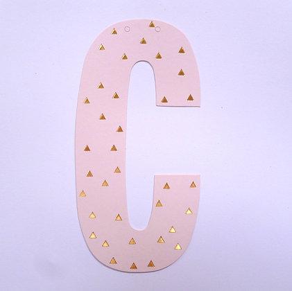 Make A Garland :: Letter :: C