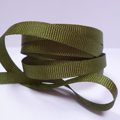 6mm Grosgrain Ribbon :: Moss (9892)