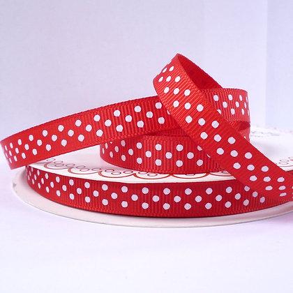Polka Dot Grosgrain :: Red